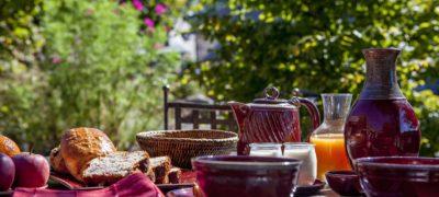 Auberge des Montagnes Pailherols petit déjeuner