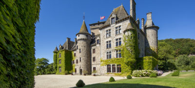 Château de pesteils Cantal Auvergne