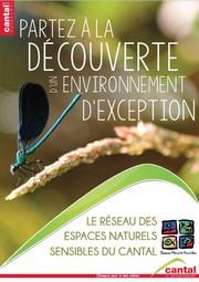 livret espace naturel sensible du Cantal
