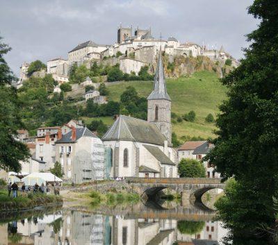Ville de St Flour Auvergne