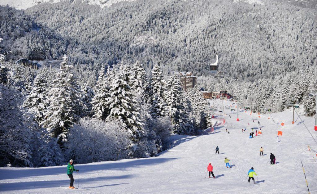 Ski à la Station du Lioran