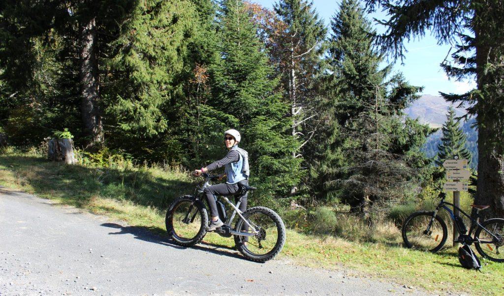 Balade en VTT électrique le Lioran Cantal Auvergne