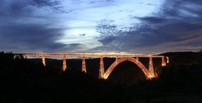 Viaduc de Garabit Cantal Auvergne