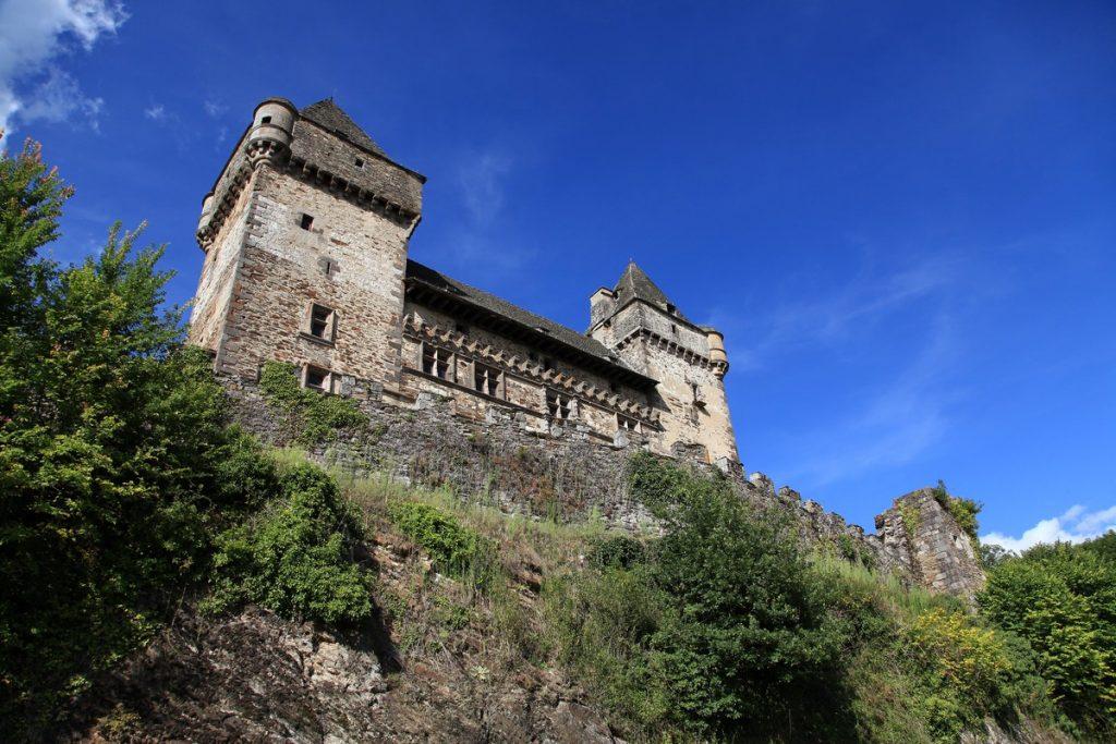 château de Messilhac cantal auvergne raulhac