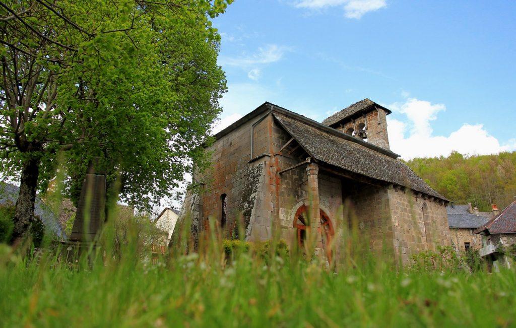 Eglise de Jou sous Monjou Cantal