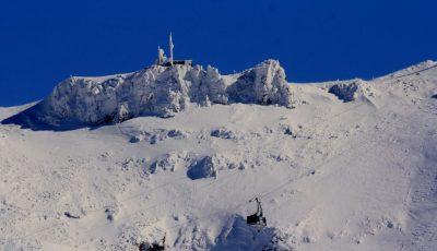 Plomb du Cantal enneigé Hiver Auvergne