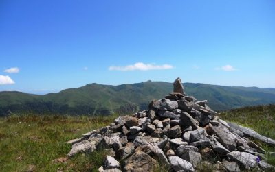 Cairn sommet Téton de Vénus Cantal
