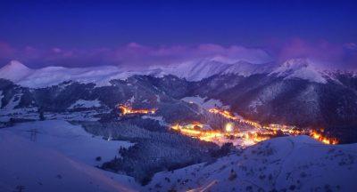 Station du Lioran Cantal en hiver