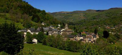 Thiézac vallée de la Cère Cantal Auvergne