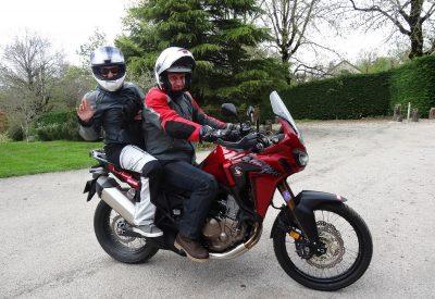 Balade à moto en Auvergne à pailherols