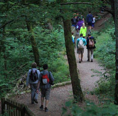 balade dans les gorges du Pas de Cère Cantal