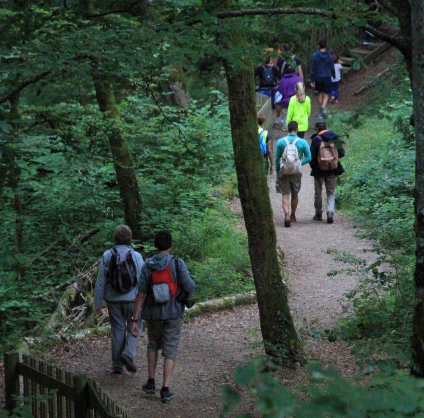 balade dans les gorges du Pas de Cère Cantal Auvergne
