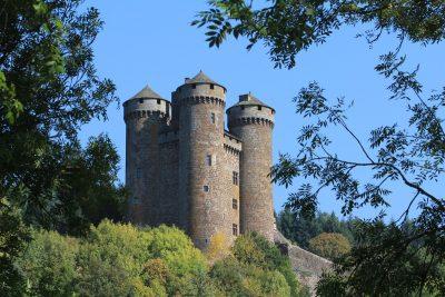 Chateau d'Anjony à Salers Cantal Auvergne