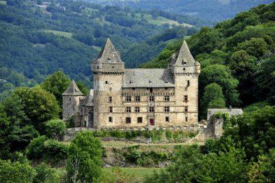 Chateau de Messilhac à Raulhac dans le Cantal