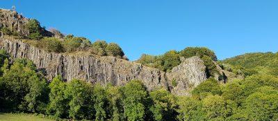 Cascade de Faillitoux dans le Cantal à Thiézac
