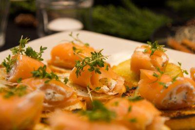 Repas de fête pour le réveillon dans le Cantal
