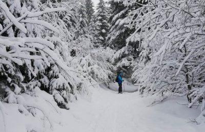 Ski de randonnée en Auvergne