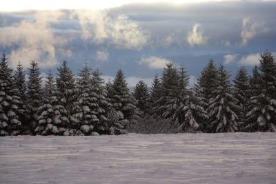 la tuillère en hiver GR400