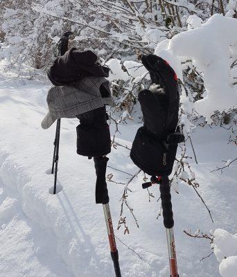 matériel rando en hiver