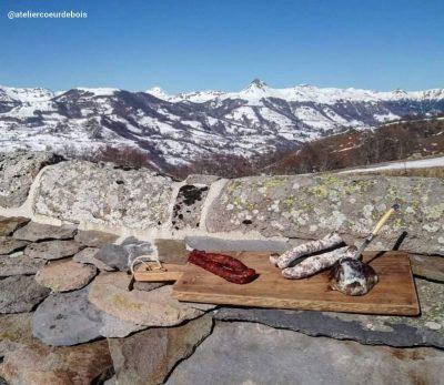 instagram apéritif en montagne