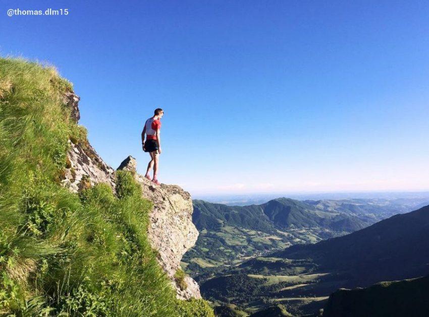 Instagram Thomas Dlm15 trail dans le Cantal