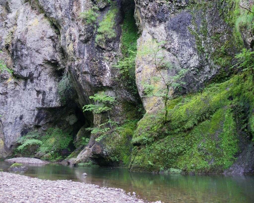 Gorges du pas de Cère dans le Cantal