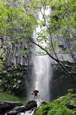 Cascade de Faillitoux, Thiézac, Cantal Auvergne Parc naturel régional des volcans