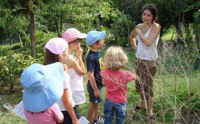 Jardin délirant a=visite enfants à Bassignac