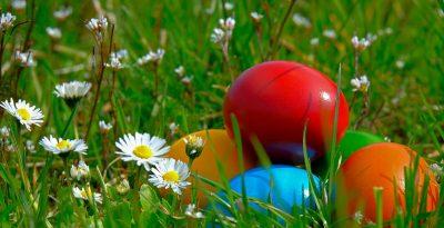 Vacances de printemps la cahsse aux oeufs de pâques