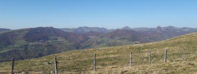 Circuit randonnée itinérance cantal
