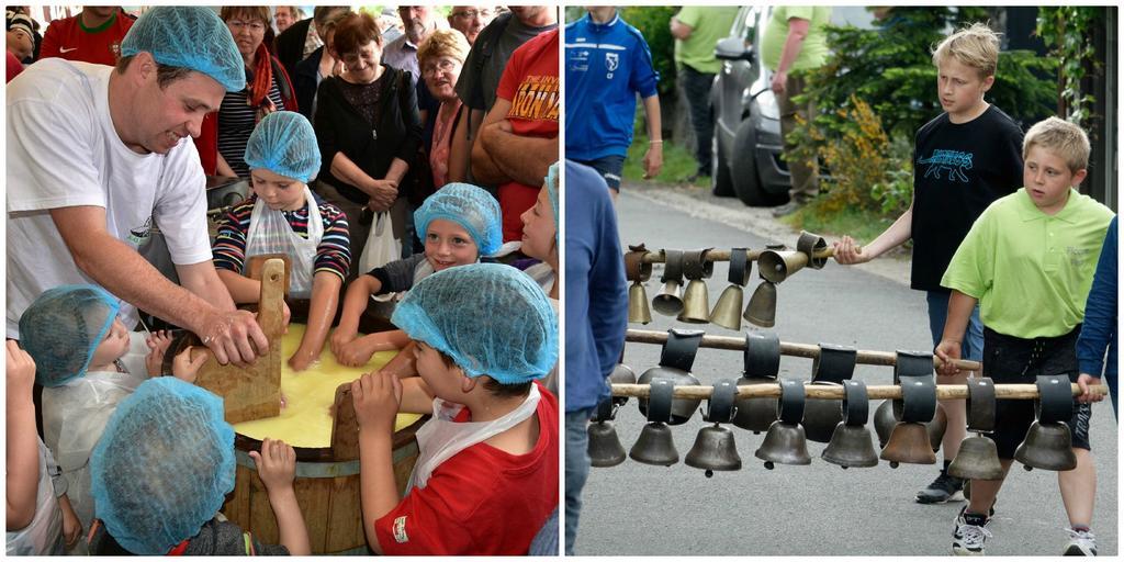 Fete des fromages enfants participants