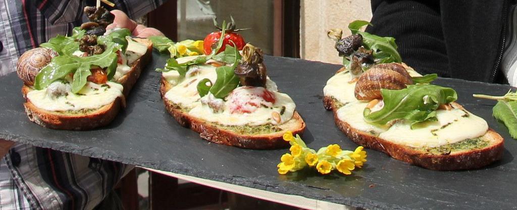 tartines de pailherols pour la fete des fromages