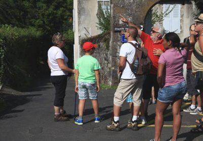 visite commentée de Vic sur Cère dans le Cantal