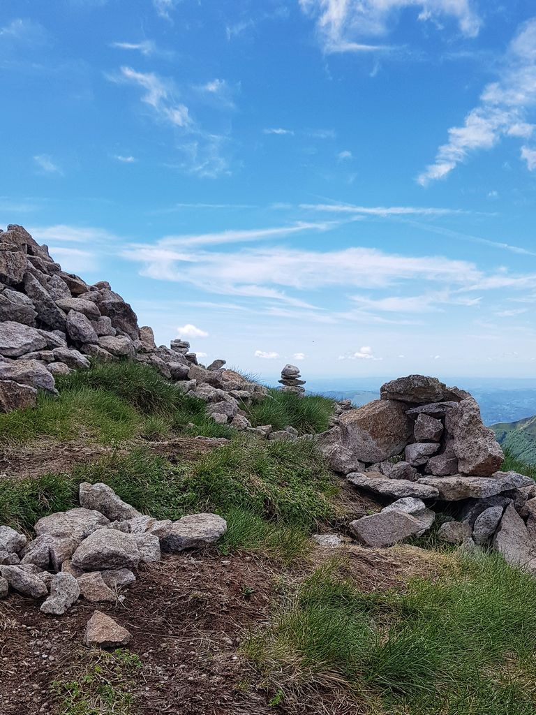 cairn au Puy Mary