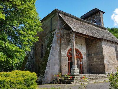 Eglise de Jou sous Monjou Cantal Auvergne