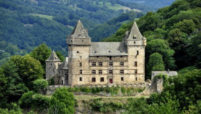 Chateau de Messilhac Raulhac Cantal