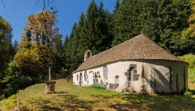 chapelle Thiézac Cantal Notre dame de consolation