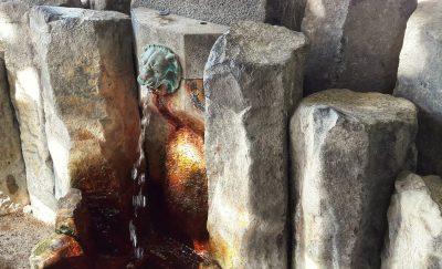 eau ferrugineuse de Vic sur Cère Cantal