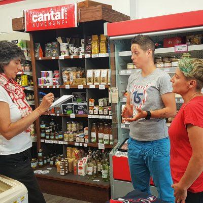 garde manger à polminhac dans le Cantal une épicerie bio et locale
