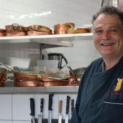 Chef du restaurant le Bel horizon à Vic sur Cère dans le Cantal