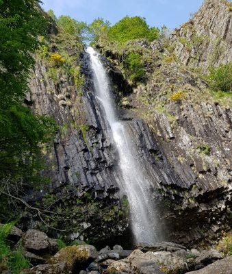 cascade de Faillitoux à Thiézac dans le Cantal
