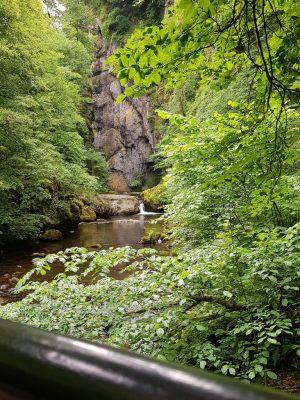 les gorges du Pas de Cère dans le Cantal auvergne