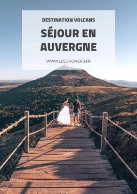 Claire et Arthur les Droners racontent leur séjour en Auvergne