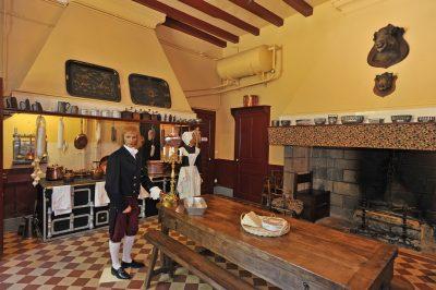 Cuisine du Château de Pesteilscantal auvergne