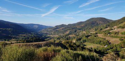 Promontoire de Font de Cère dans le Cantal